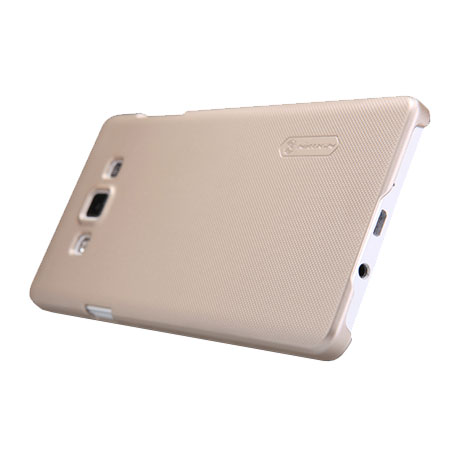 Nillkin Super Frosted Shield Samsung Galaxy A7 2015 Case - Gold