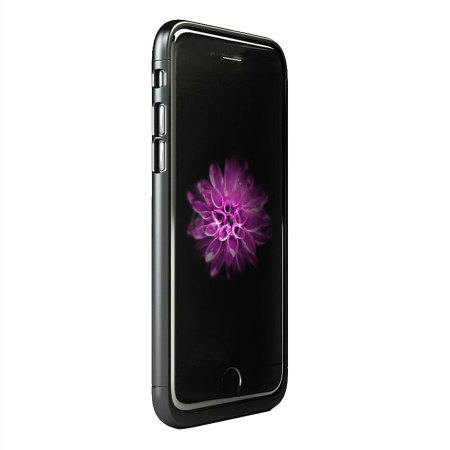 aircharge qi iphone 6 wireless charging case black. Black Bedroom Furniture Sets. Home Design Ideas