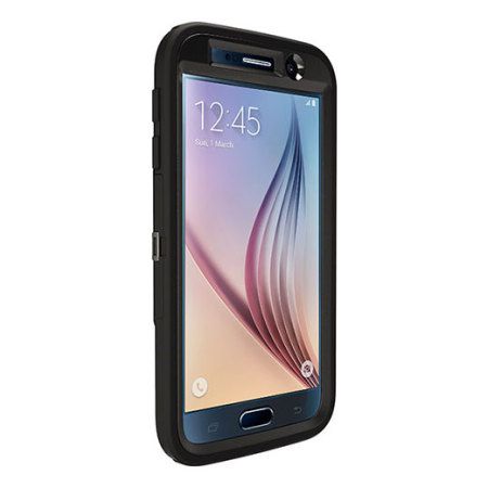 100% authentic 0d544 2dbd7 OtterBox Defender Series Samsung Galaxy S6 Case - Black