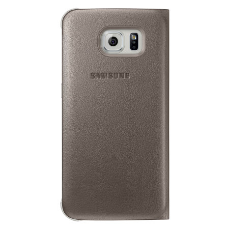 Shipping provide official samsung galaxy s6 flip wallet cover gold you want get