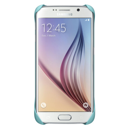 Official Samsung Galaxy S6 Protective Cover Case - Mint