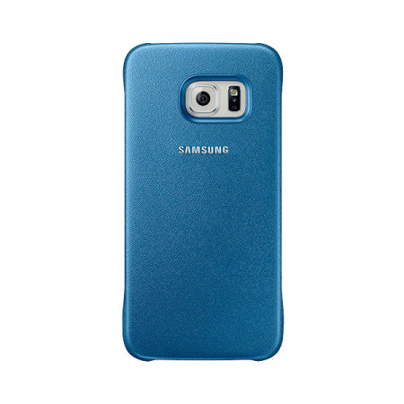 Official Samsung Galaxy S6 Protective Cover Case - Blue