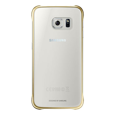 best website 23ca7 5b697 Official Samsung Galaxy S6 Clear Cover Case - Gold