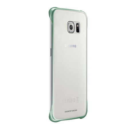 entire idea official samsung galaxy s6 edge clear cover case green september