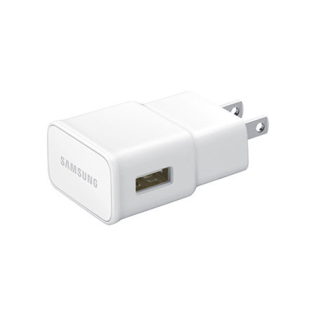 Official 2A Samsung US Wall Charger with Micro 3.0 USB Cable - White