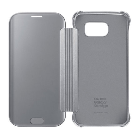allow know official samsung galaxy s6 edge clear cover case silver moreand neglecting
