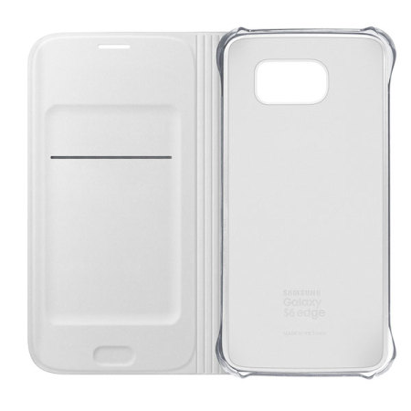 official samsung galaxy s6 flip wallet cover white