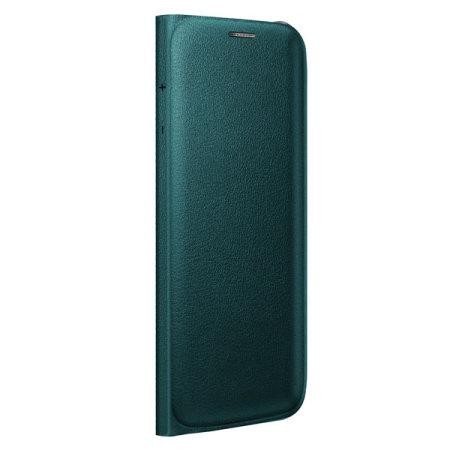 low priced a5957 15516 Official Samsung Galaxy S6 Edge Flip Wallet Cover - Green