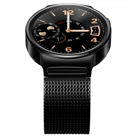 Huawei Watch for Android and iOS Smartphones - Black