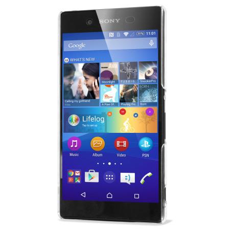Olixar Polycarbonate Sony Xperia Z3+ Shell Case - 100% Clear