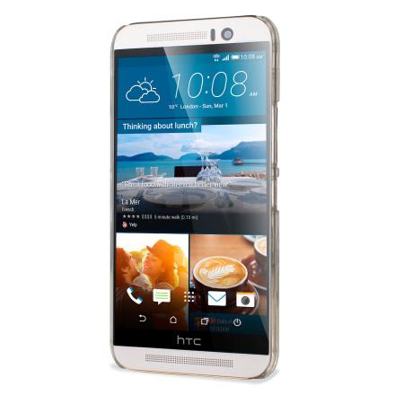 Encase Polycarbonate HTC One M9 Shell Case - 100% Clear
