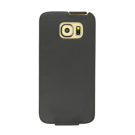 Noreve tradition samsung galaxy s6 leather flip case black