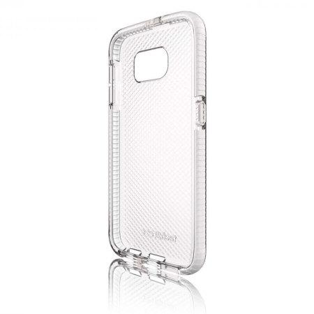 new style e6c43 d7227 Tech21 Evo Check Samsung Galaxy S6 Case - Clear/White