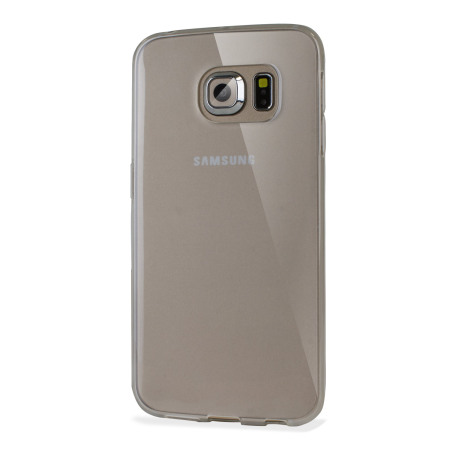 Funda Samsung Galaxy S6 Edge Olixar FlexiShield Gel - Blanca