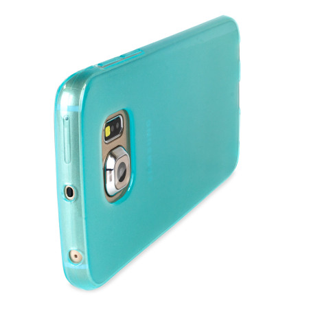 Flexishield samsung galaxy s6 gel case light blue 3