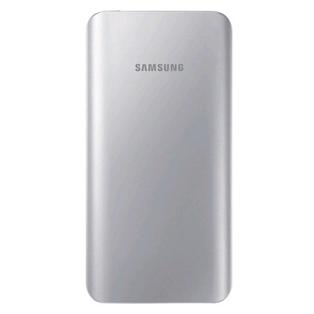 Samsung Portable 5,200mAh Battery Pack - Silver