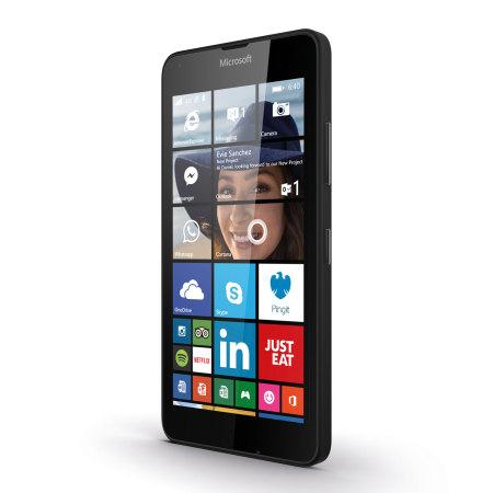 SIM Free Microsoft Lumia 640 LTE Unlocked - Black
