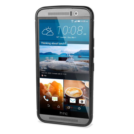 FlexiShield Dot HTC One M9 Case - Black