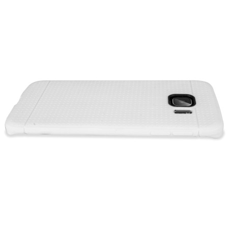 FlexiShield Dot Samsung Galaxy S6 Edge Case - White