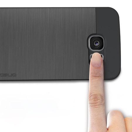 best website 61c7b fa46e Obliq Slim Meta Samsung Galaxy S6 Case - Titanium Space Grey