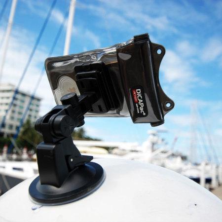 DiCAPac Action Yacht en Autohouder voor smartphones and tablets