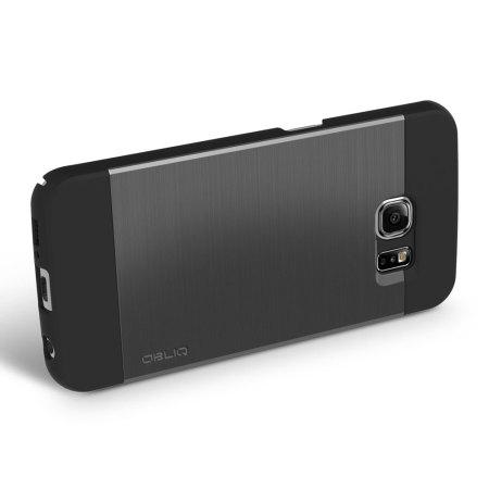 along obliq slim meta samsung galaxy s6 case titanium space grey phone