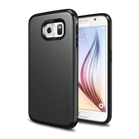 Rearth Ringke MAX Samsung Galaxy S6 Heavy Duty Case - Black