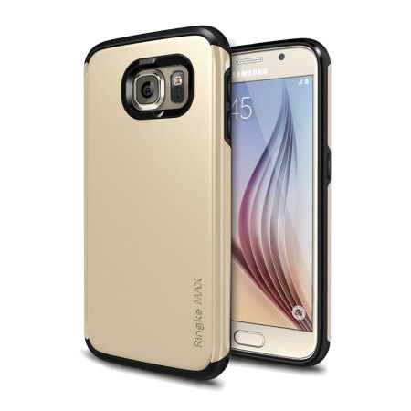proceeded rearth ringke max samsung galaxy s6 heavy duty case gold article