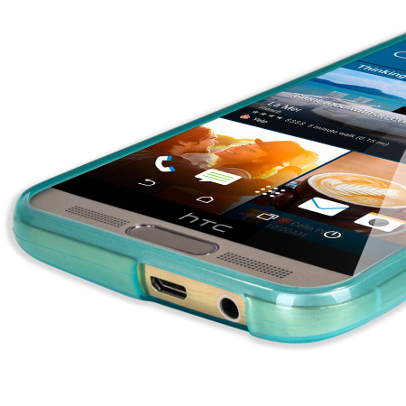 FlexiShield HTC One M9 Plus Case - Light Blue