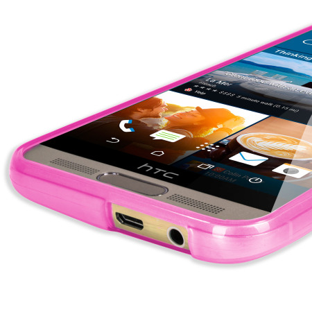 FlexiShield HTC One M9 Plus Case - Light Pink