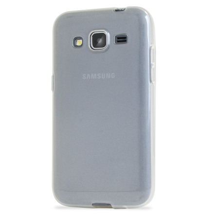 FlexiShield Samsung Galaxy Core Prime Case - Frost White