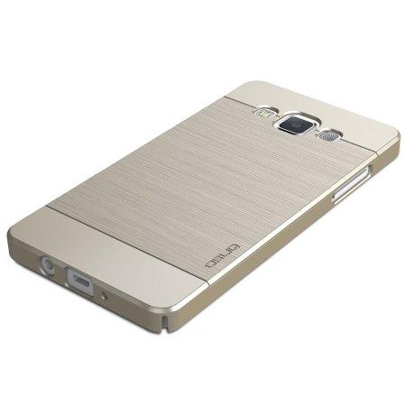 1fa6bb0d1ae Funda Samsung Galaxy A5 Obliq Slim Meta - Oro Champán
