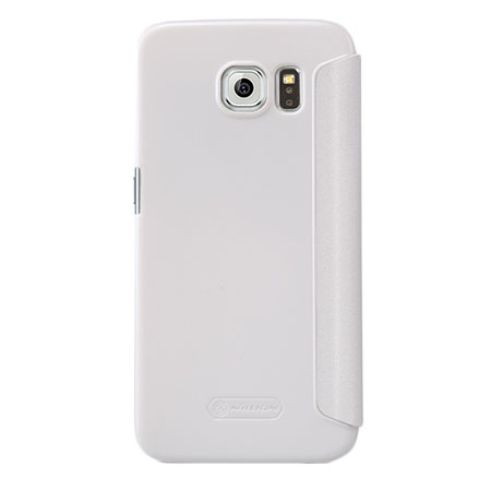 Nillkin Sparkle Big View Window Samsung Galaxy S6 Case - White