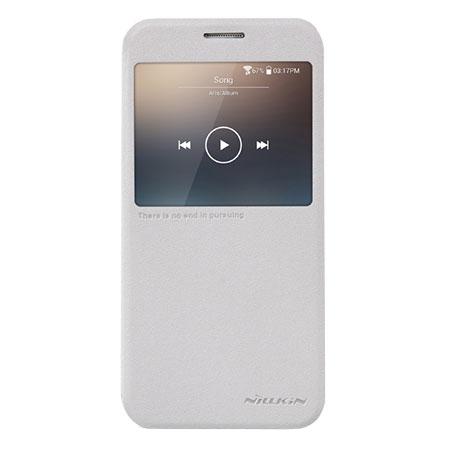 Nillkin Sparkle Big View Window Samsung Galaxy S6 Case - White