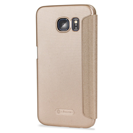 Nillkin Sparkle Big View Window Samsung Galaxy S6 Case - Gold