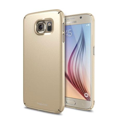 samsung galaxy s6 gold. rearth ringke slim samsung galaxy s6 case - gold g