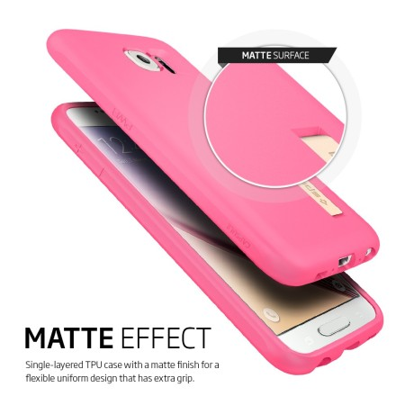 Spigen Samsung Galaxy S6 Capsule Case - Azalea Pink