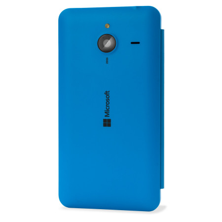 the best attitude af552 e2e9f Official Microsoft Lumia 640 XL Wallet Cover Case - Blue
