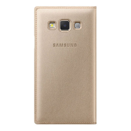 Official Samsung Galaxy A3 2015 Flip Cover - Gold
