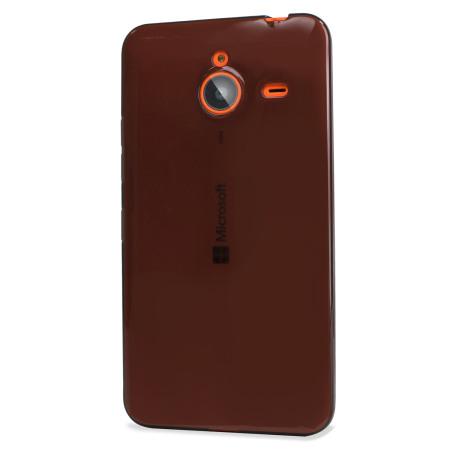 Flexishield Microsoft Lumia 640 XL Gel Case - Smoke Black