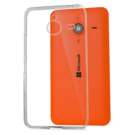 Flexishield Microsoft Lumia 640 XL Gel Case - Frost White