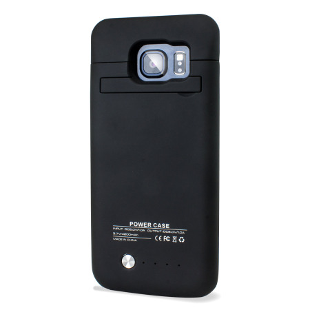 online store 85f2c 2a0d7 Samsung Galaxy S6 Edge Power Bank Case 4,200mAh - Black