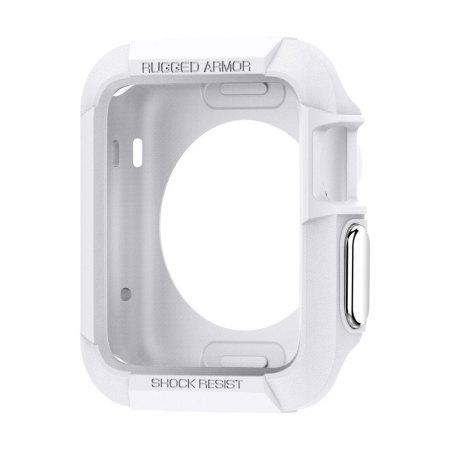Spigen Rugged Armor Apple Watch Series 2 / 1  Case (42mm) - White