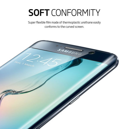 Spigen Flex Samsung Galaxy S6 Edge Full Screen Protector