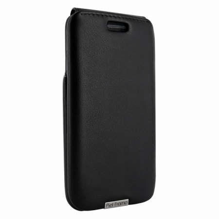 Piel Frama iMagnum Samsung Galaxy S6 Edge Flip Case - Black