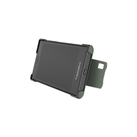 Official Blackberry Leap Flex Shell Case - Military Green