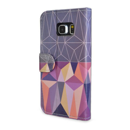 Create and Case Samsung Galaxy S6 Book Case - Nordic Combination