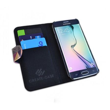 Create and Case Samsung Galaxy S6 Edge Book Case - Nordic Combination