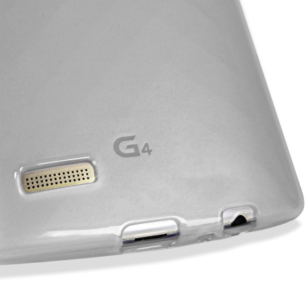 flexishield lg g4 gel case frost white