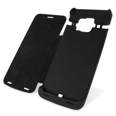 new arrival eea7d 054e5 Samsung Galaxy S6 Power Bank Case with Cover 4,200mAh - Black